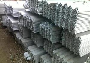 Hot dip galvanized steel angle