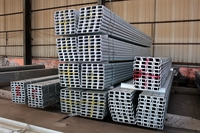 Hot dip galvanized steel channel